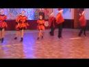 Новогодний концерт для детей в ДК, танец, г. Рубежное