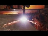 Газо-плазменная резка металла на производственной площадке ПРОМФОРМА