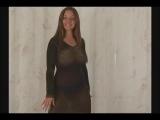 Christina Model Black Dress